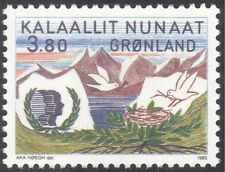 Greenland 1985 IYY/International Youth Year/Birds/Nature/Leisure 1v (n31821)