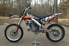 2000 2001 CR 125 250 Graphics CR125R CR250R custom deco kit #2500 Orange