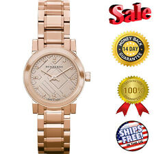Burberry BU9215 Watch Heritage Ladies - Rose Gold Dial Stainless, FAST SHIPPING