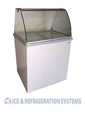 """FRICON 32"""" COMMERCIAL 4 FLAVOR ICE CREAM / GELATO DIPPING CABINET FREEZER DDC30"""