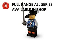 Lego minifigures musketeer series 4 (8804) new factory sealed