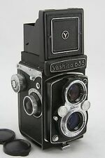 Yashica 635 vintage twin lens, waist level finder camera, lens Yashikor 3.5/80mm