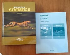 Elementary Statistics by Neil A. Weiss (2011, CD-ROM/Hardcover/Minitab Manual)