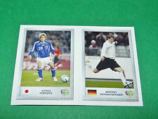 N°109 INAMOTO 10 SCHWEINSTEIGER PANINI FOOTBALL GERMANY 2006 MINI-STICKERS