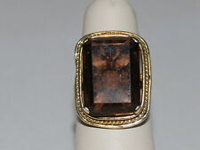 14K Gold ring with Large Gemstone