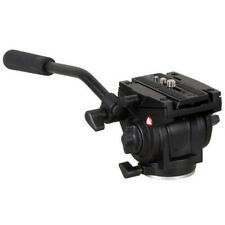 701HDV W/ 501PL QR Plate Pro Fluid Video Lightweight Head for Manfrotto Tripod