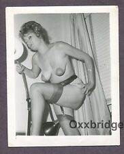 Big Fat Huge Nipples Danling Boobs Breasts 1950 Original Nude Pinup Photo  B3547