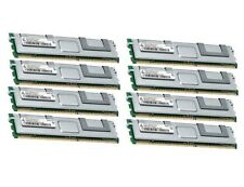 8x 8GB 64GB RAM 2Rx4 FB DIMM Speicher 667 Mhz ECC Fully Buffered DDR2 PC2-5300F