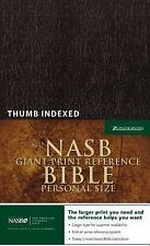 Nasb Giant Print Reference Bible, Personal Size by New American Standard...