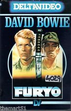 Furyo (1982) VHS 1a Ed. Deltavideo - D. Bowie  N.Oshima