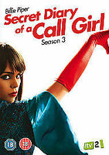 SECRET DIARY OF A CALL GIRL COMPLETE SERIES 3 DVD All Episodes Sealed Season UK