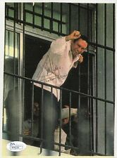 MANUEL NORIEGA HAND SIGNED 6x8 COLOR PHOTO          AWESOME+VERY RARE       JSA