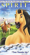 Spirit: Stallion of the Cimarron (VHS, 2002, Clamshell)