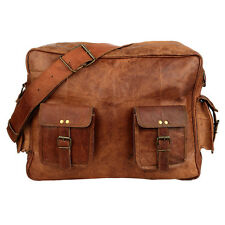 Fair Trade Handmade Large Brown Leather Overnight Bag - 2nd Quality