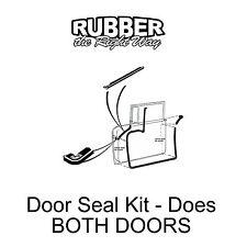 1955 Ford & Mercury Door Seal Kit - Does Both Doors