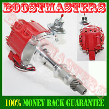 For Pontiac 301 326 389 400 421 428 455 V8  E-Z HEI One Wire Distributor Red