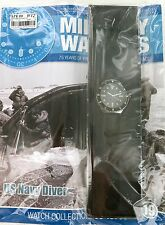EAGLEMOSS MILITARY WATCHES. US NAVY DIVER 1970's ISSUE 19. UNOPENED / MINT