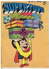 fumetto - SUPERTOPO edizioni CENISIO Numero 11