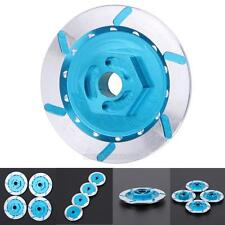 4Pcs/Set Aluminum Simulation Wheel Hub Brake Disc Disk for 1/10 On-Road RC Car
