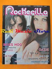 rivista ROCKERILLA 234/2000 Boss Hog Kid Loco Oasis Yo La Tengo Bandabardo *NOcd