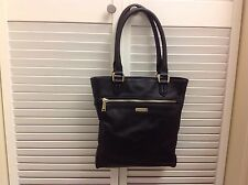 COLE HAAN Melbourne Magazine Tote Black Leather NWOT