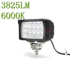 "6"" 45W Flood LED Work Light Truck SUV Boat 4x4 Tractor Marine Fog Off Road Lamp"