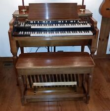 CLASSIC 1958 HAMMOND B3 ORGAN (CHERRY WOOD) WITH PEDALS, BENCH & HAMMOND SPEAKER