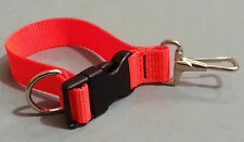 Sav-A-Jake Firefighter Glove Strap - Quick Release Clip - Hot Orange