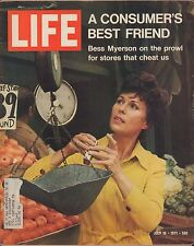 LIFE July 16,1971 Bess Myerson / Three Soviet Heroes / Grand Old Resort Hotels