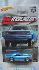 HOT WHEELS 2016 REDLINERS 68 COPO CAMARO BLUE CAR CULTURE NEW IN STOCK