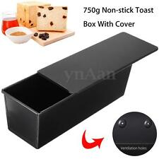 750g Rectangle Nonstick Box Large Loaf Tin Kitchen Pastry Bread Cake Baking Pan