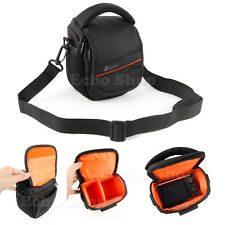 Bridge Camera Shoulder Carry Case Bag For SONY Cyber-Shot DSC ILCE-QX1 HX400V