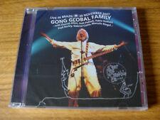 CD Album: Gong : Global Family Live In Brazil 2007 : Sealed