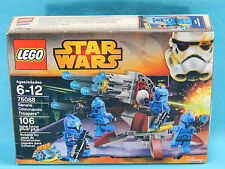 Lego 75088 Star Wars Senate Commando Troopers 106pcs Sealed 2015 Battle Pack