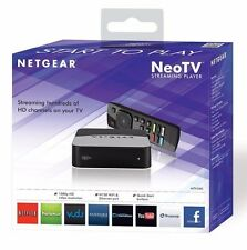 NetGear NTV300 NeoTV Home Digital Streaming Media Player w/ Wi-Fi ✔NEW✔