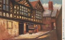 Chester, Lord Derby's House, unused Tuck Oilette postcard by H. Hadfield Cubley