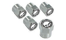 Harley-Davidson Chrome Willie G. Skull Valve Stem Cap Covers