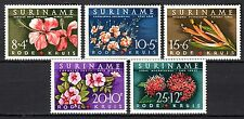 Suriname - 1962 Red Cross / Flowers - Mi. 416-20 MNH