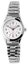 Excellanc Damenuhr Zifferblatt Weiß Zugband Armbanduhr SE188