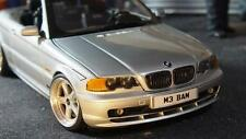 BMW E46 328CI cabrio schintzer  kyosho 1:18 total one off modified tuning  Umbau