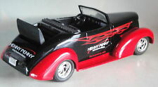 HENNY PENNY1937 CHEVY BLACK CONVERTIBLE 1/25 LIBERTY CLASSICS DIECAST