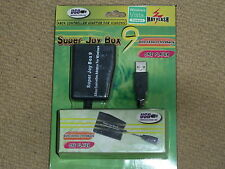 XBOX ORIGINAL CONTROLLER CONVERTER ADAPTER to PC USB BRAND NEW! Super Joy Box 9