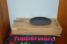"""TUPPERWARE  pro chef series teflon coated NONSTICK GRIDDLE 12"""" stainless steel"""