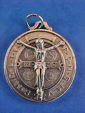 Rare St BENEDICT Crucifixion Medal Protection Exorcism's Saint Medal Protection