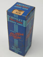 NOS OEM Crosley Twice Tested Electron Radio Tube 7A7 GT/G New in Box