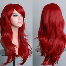 Natural Curly  Wig Wavy Fancy Dress Fashion Womens Ladies Hair Wig Cosplay