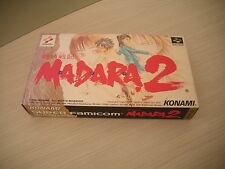 MADARA 2 II KONAMI RPG SFC SUPER FAMICOM IMPORT BRAND NEW OLD STOCK!