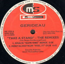 GERIDEAU - Take A Stand For Love (The Re-Mixes) - Music Station