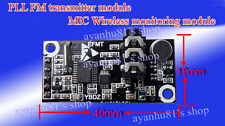 5V 76-108MHz PLL FM Radio Transmitter Module Wireless MIC Bug Wiretap Dictagraph