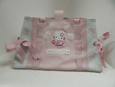 Hello Kitty Pink Faux Leather Purse with Faux Leather Handles Sanrio